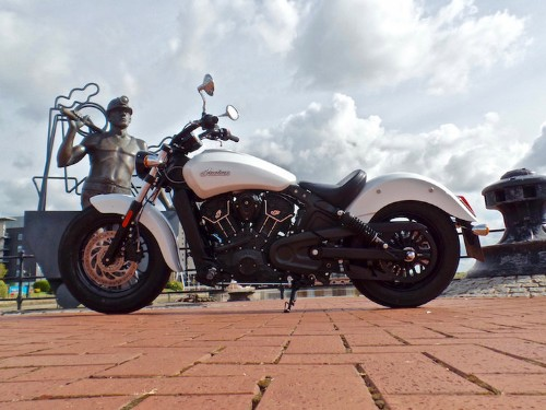It's easy to fall in love with the 2016 Indian Scout Sixty motorcycle