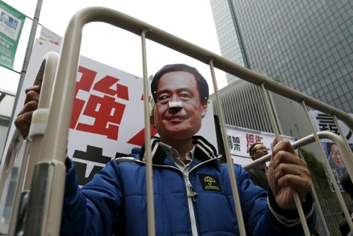 The Chinese government is making people who sell books disappear