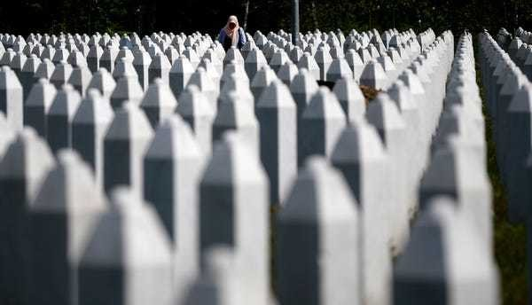 22 years ago Europe saw worst atrocity since WWII at Srebrenica - Business Insider