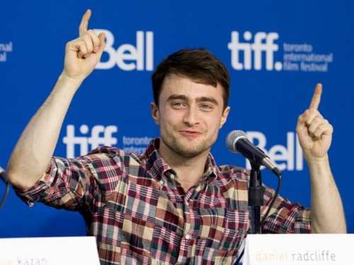 Daniel Radcliffe has a great story about finding out he was cast as Harry Potter