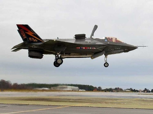 One of the F-35's most expensive features was made possible by flying saucers