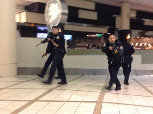 Loud Car Crash Triggers Shooting Fears And Lockdown At LAX