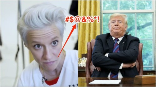 Megan Rapinoe said she's 'not going to the f------ White House' if US wins World Cup