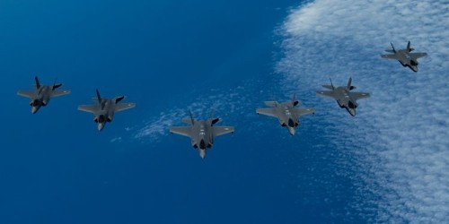 US, UK, and Israeli F-35s join forces for the first time in drills