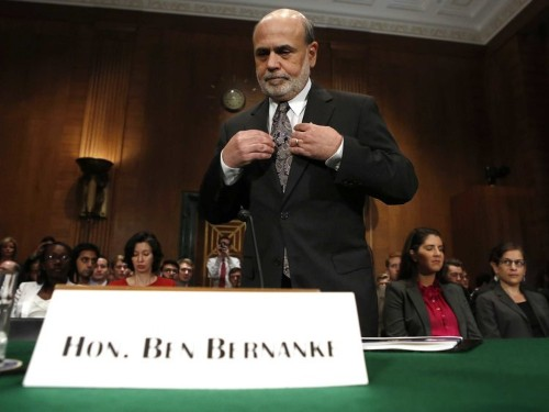 Justice Department Trying To Prevent Ben Bernanke From Having To Testify In AIG Bailout Lawsuit