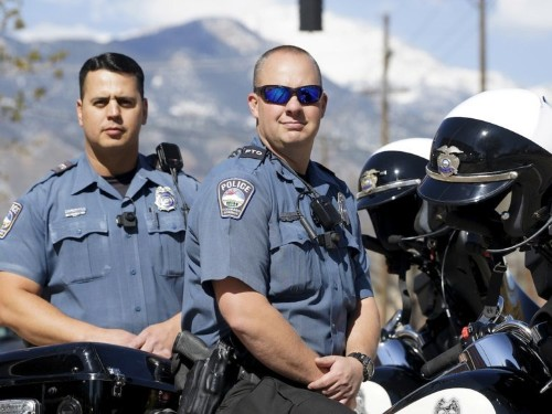 The company that's supposed to protect America's cops is being accused of some shady stuff