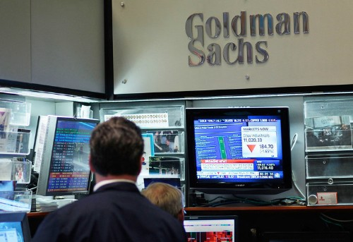 Goldman Sachs is reportedly building a cryptocurrency trading desk