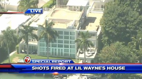 Reports of shooting at Lil Wayne's Miami mansion are a hoax