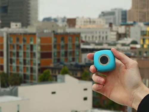 This remote-controlled camera that sticks to walls could replace selfie sticks
