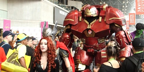 This giant Iron Man Hulkbuster costume blew everyone away at Comic Con