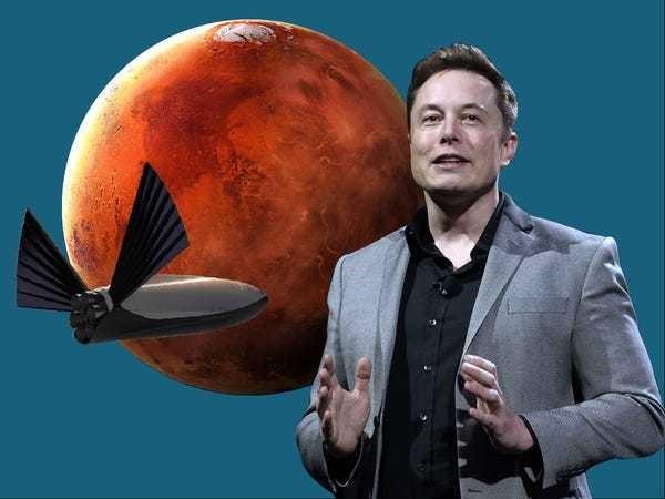 Elon Musk's full SpaceX Mars colonization talk transcript and slides - Business Insider