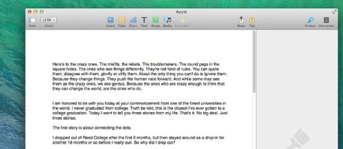 Apple Hid Steve Jobs' Amazing Commencement Speech In Its Word Processor — Here's How To Find It