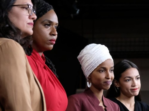 "Illinois GOP leaders posted a photo of 4 Democratic congresswomen and labeled it ""The Jihad Squad"""