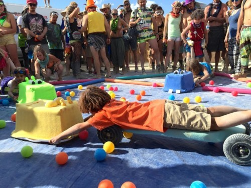 More and more people are bringing their kids to Burning Man