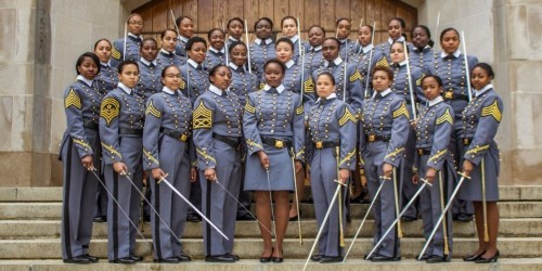 West Point is about to graduate its largest class of black women in its 217-year history