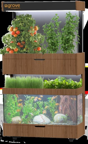 A futuristic 'garden' that lets you grow food in your home just raised $230,000 on Kickstarter in 4 days