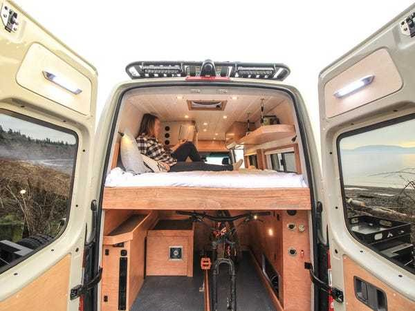 Mercedes-Benz Sprinter van tiny home on wheels named 'Fitz Roy' - Business Insider