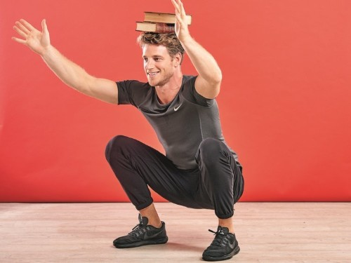 Meet Roger Frampton, the international model and personal trainer who swapped weights and cardio for stretches