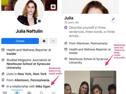 Facebook Dating has two features that could make it easier to cheat
