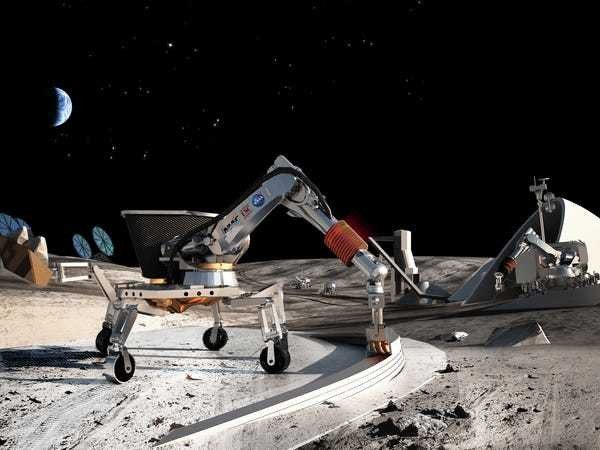A professor is working with NASA to 3D print houses on the moon — here's his plan - Business Insider