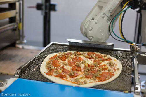 This startup is raising $750 million to outmaneuver Domino's and Pizza Hut with pizzas made by robots — check it out