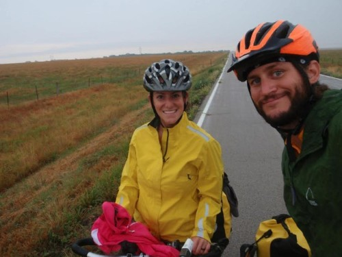 This couple quit their jobs to bike over 4,000 miles across the US on $6,000