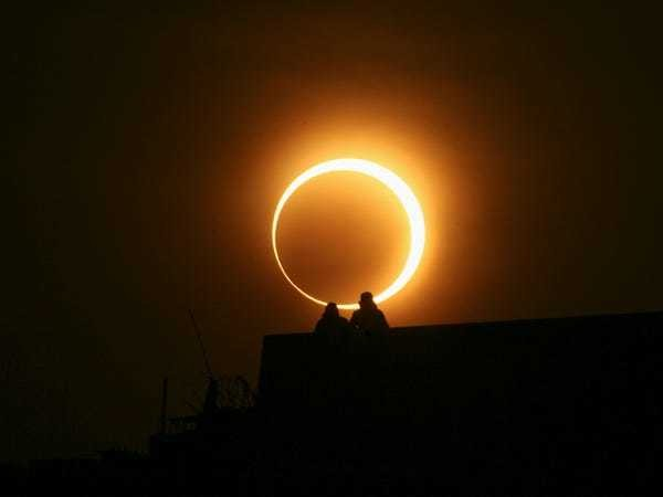 How to watch this week's breathtaking 'ring of fire' solar eclipse - Business Insider
