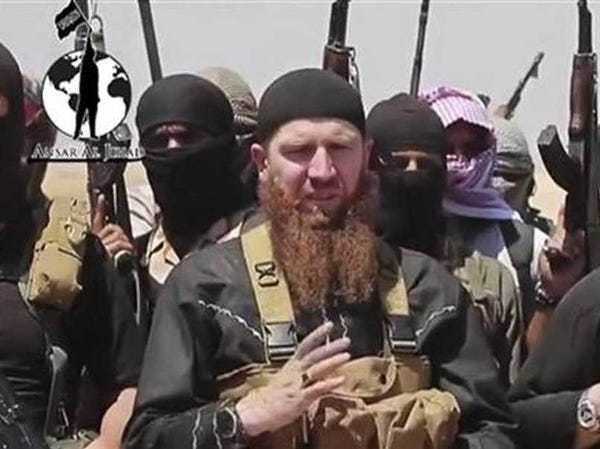 Omar al-Shishani ISIS commander and US - Business Insider