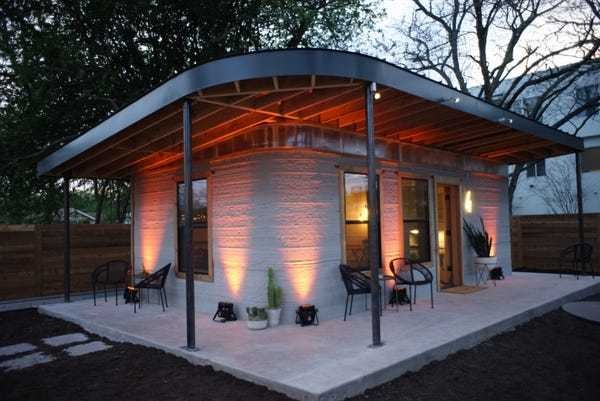 These 3D-printed homes can be built for less than $4,000 in just 24 hours - Business Insider