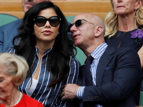 Amazon CEO Jeff Bezos' wild summer of yachting, traveling, and watching tennis