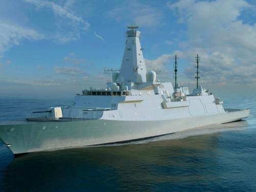 Britain is building the world's most advanced warship in Scotland next year