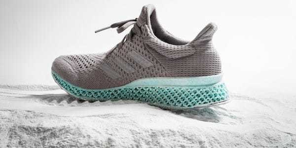 Adidas created this 3D-printed shoe out of the plastic waste we throw in the ocean - Business Insider