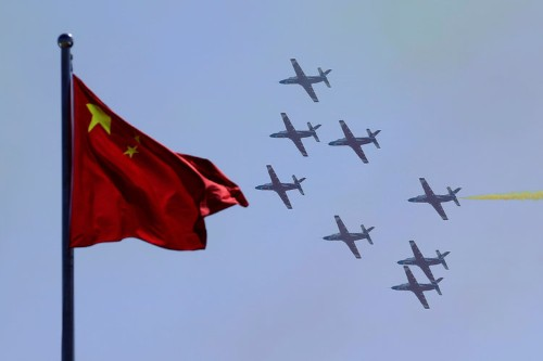 China showed off its new stealth fighters at the country's largest airshow, and the images are quite impressive
