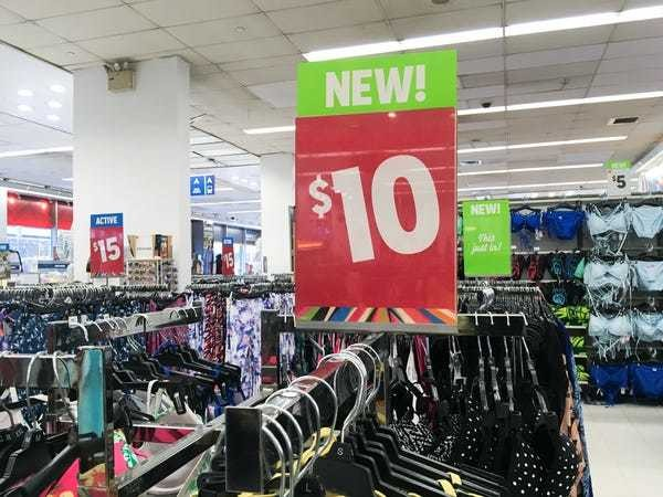 We went to a Kmart store and saw why the company is in danger of shutting down - Business Insider