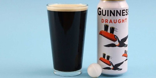 Every can of Guinness includes this simple technology in it