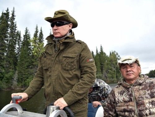 Kremlin releases photos of Vladimir Putin's vacation in Siberia