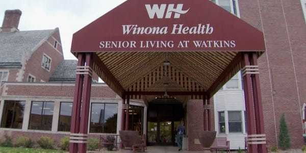 Winona State University students are living at a senior living home - Business Insider