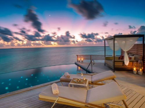 An ultra-luxe retreat in the Maldives has been named the world's most romantic resort 6 times — here's a look inside the secluded island