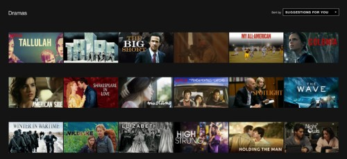 How to easily find all the Netflix movies in a secret category like 'military dramas'