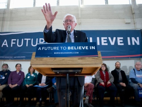 Bernie Sanders just vaulted into the lead over Hillary Clinton a new Iowa poll