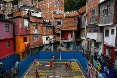 Gorgeous Photos Of Kids Playing Soccer In Brazil's Slums