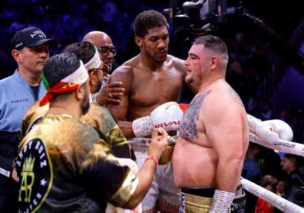 Andy Ruiz says he was undertrained, overweight, and partied for months - Business Insider