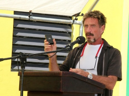 Former fugitive and cybersecurity legend John McAfee says he may be running for president — here's a look at his insane life