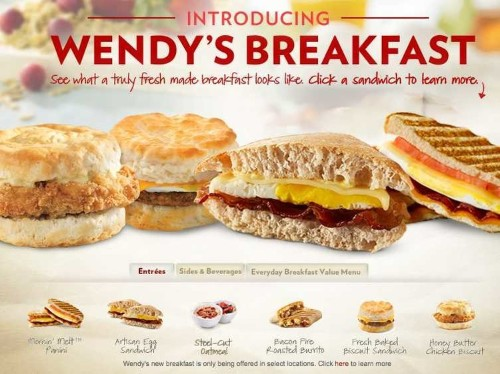 Why Wendy's Breakfast Was A Total Flop
