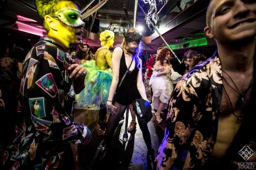 Inside NYC's Burlesquerade yacht party for tech, Wall Street, and artists