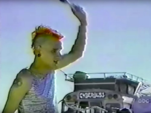 This forgotten news clip shows the madness of Burning Man in the '90s