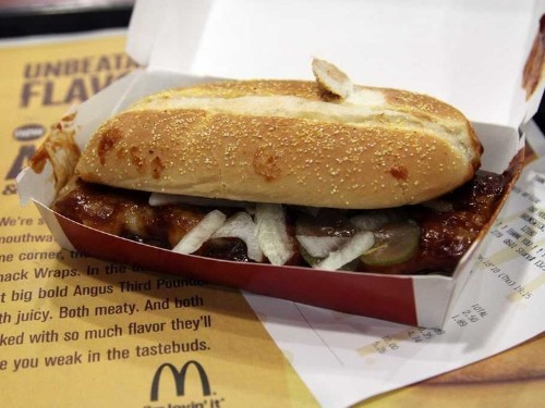 With Sales Stagnant, McDonald's Q4 Hinges On The Return Of The McRib