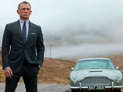 These iconic companies are winning 007's branding sweepstakes