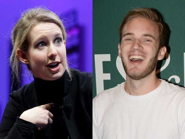 PewDiePie and Elizabeth Holmes called 'bad people' in 'The Good Place' - Business Insider