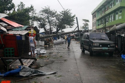 Millions hunker down in Philippine capital ahead of storm